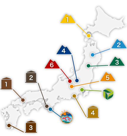 系列施設マップ
